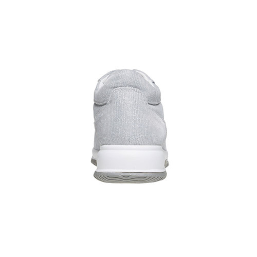 Sneakers argentate da donna bata, grigio, 549-2255 - 17