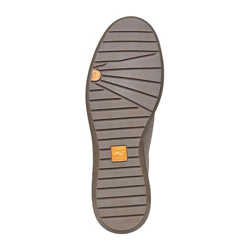 Sneakers in pelle da uomo flexible, grigio, 844-2709 - 26