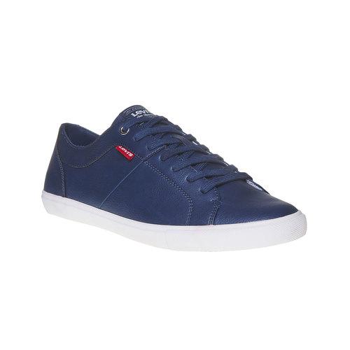 Sneakers casual da uomo levis, blu, 841-9513 - 13