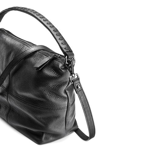 Borsa hobo in pelle bata, nero, 964-6121 - 15