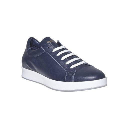 Sneakers da uomo in pelle flexible, blu, 844-9705 - 13