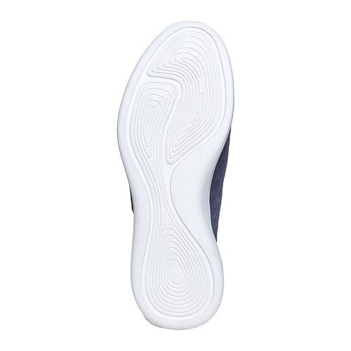 Sneakers in pelle da uomo flexible, blu, 843-9703 - 26