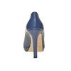 Décolleté blu con punta aperta bata, blu, 724-9721 - 17
