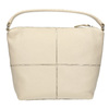 Borsa in pelle in stile Hobo bata, bianco, 964-1121 - 19