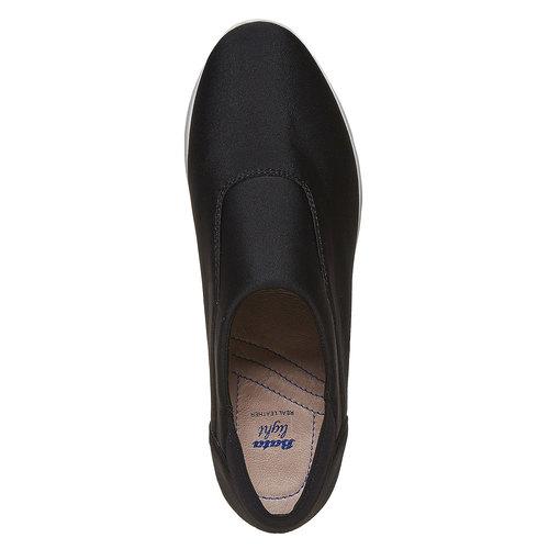 Slip-on da donna, nero, 519-6335 - 19