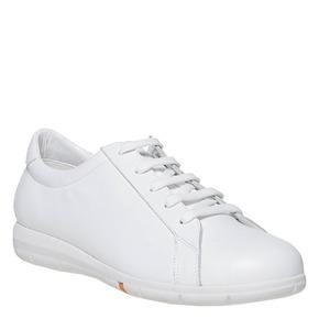Sneakers bianche in pelle flexible, bianco, 524-1597 - 13