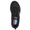 Sneakers con memory foam skechers, nero, 509-6963 - 19
