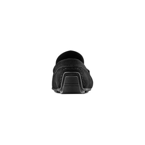 Mocassini in pelle bata, nero, 853-6180 - 15