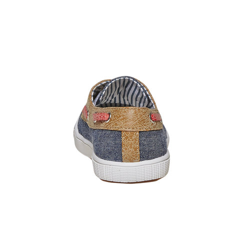 Scarpe da bambino in stile mocassini mini-b, blu, 219-9174 - 17