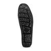Mocassini in pelle bata, nero, 853-6180 - 19