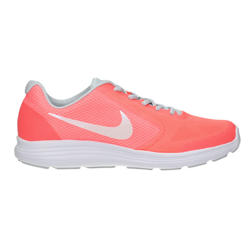 Sneakers rosa da ragazza nike, rosso, 409-5149 - 15