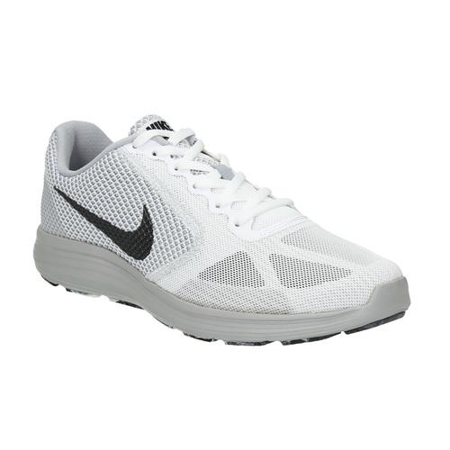 Sneakers bianche sportive da uomo nike, bianco, 809-1149 - 13