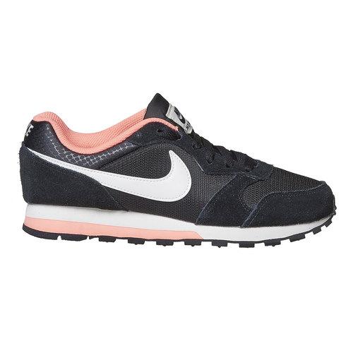 Sneakers sportive da donna nike, nero, 509-6970 - 15