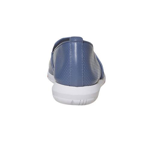 Slip-on in pelle da donna flexible, 514-0270 - 17