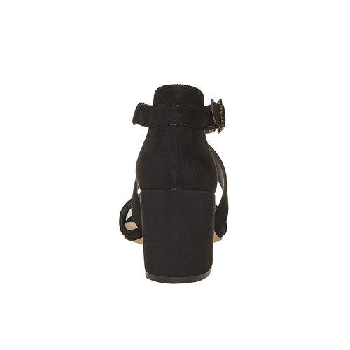 Sandali neri da donna insolia, nero, 769-6213 - 17