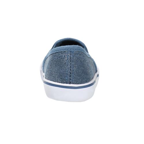 Scarpe da bambina in stile Slip-on north-star, blu, 229-9193 - 17