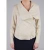 Giacca da donna con cerniera asimmetrica bata, beige, 979-8635 - 15