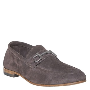 Mocassini da uomo in pelle bata-the-shoemaker, marrone, 853-4269 - 13