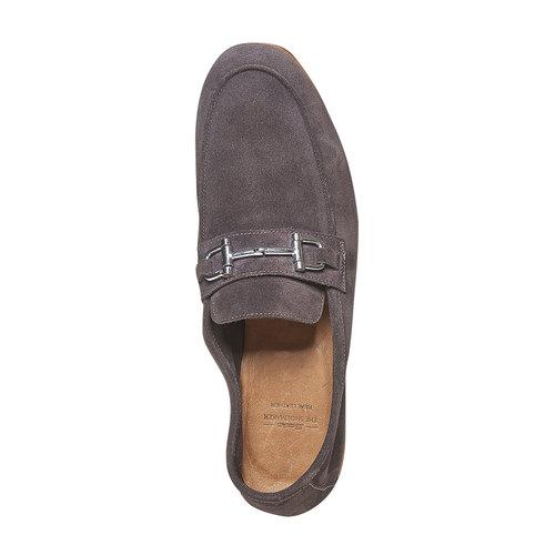 Mocassini da uomo in pelle bata-the-shoemaker, marrone, 853-4269 - 19