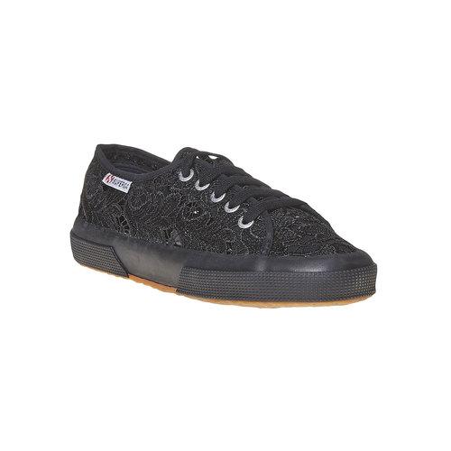 Sport shoe  superga, nero, 589-6309 - 13