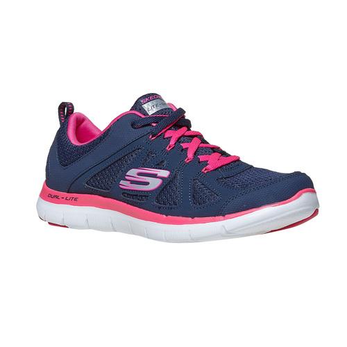 Sneakers sportive da donna skechers, blu, 509-5963 - 13