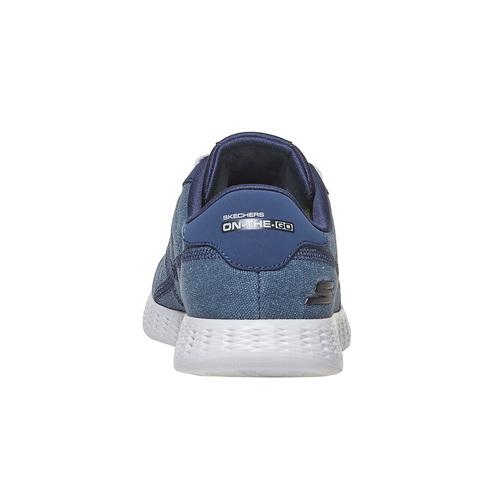 Sneakers blu da uomo skechers, blu, 889-9234 - 17