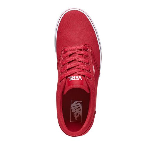 Sneakers rosse da uomo vans, rosso, 889-5560 - 19