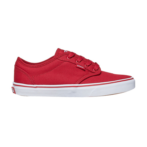 Sneakers rosse da bambino vans, rosso, 489-5101 - 15