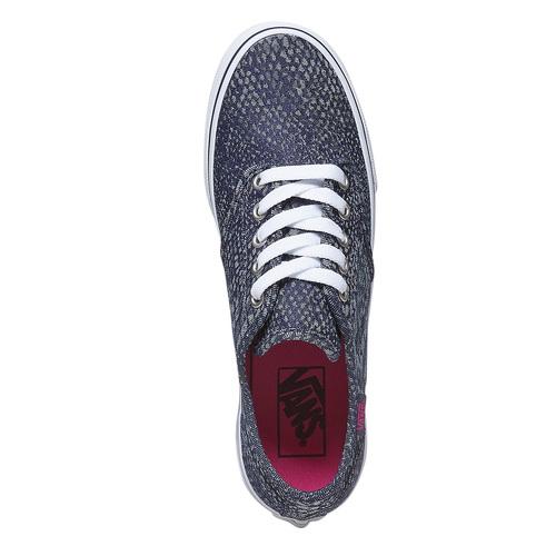 Sneakers da donna con motivo vans, viola, 589-9913 - 19