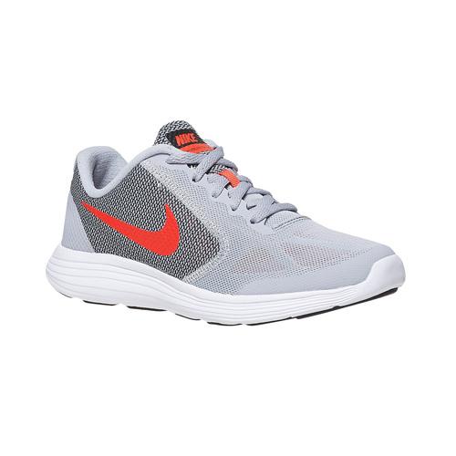 Sneakers sportive da bambino nike, grigio, 409-2149 - 13
