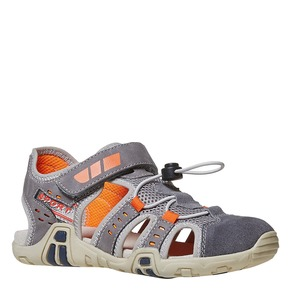 Sandali da bambino mini-b, grigio, 361-2218 - 13