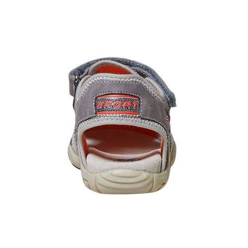 Sandali da bambino mini-b, grigio, 361-2218 - 17