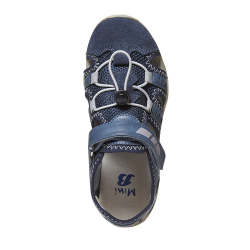 Sandali blu da bambino mini-b, blu, 361-9218 - 19