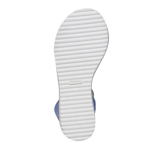 Sandali blu da bambina mini-b, blu, 361-9194 - 26