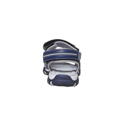 Sandali da bambino con chiusura a velcro mini-b, blu, 361-9221 - 17