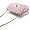 Minibag in vera pelle bata, rosa, 964-0239 - 17