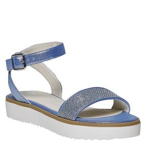 Sandali blu da bambina mini-b, blu, 361-9194 - 13