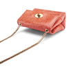 Minibag in vera pelle bata, rosso, 964-5239 - 17