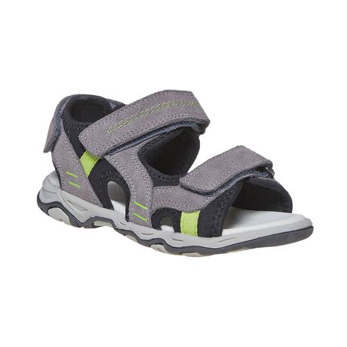 Sandali in pelle da bambino mini-b, 363-2198 - 13
