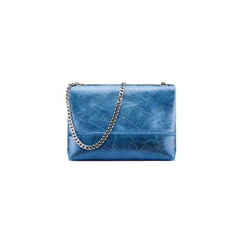Minibag in pelle bata, blu, 964-9239 - 26