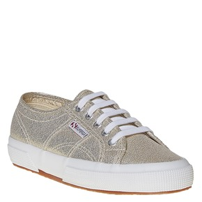 Sneakers dorate da donna superga, giallo, 589-8187 - 13