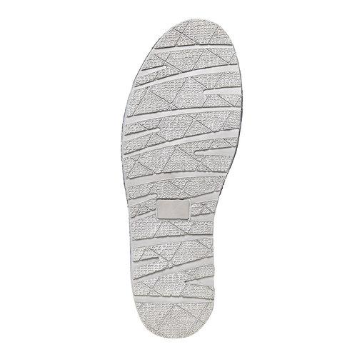 Scarpe da uomo in stile Slip-on bata, blu, 853-9241 - 26