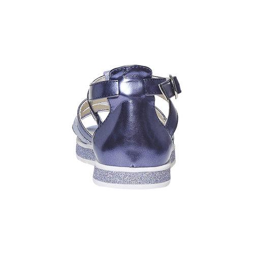 Sandali metallizzati da bambina mini-b, viola, 361-9203 - 17
