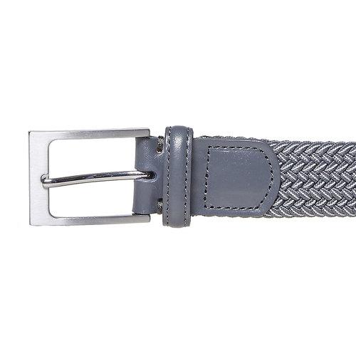 Cintura grigia da uomo bata, grigio, 959-2219 - 26