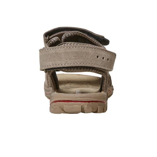 Sandali in pelle da bambino weinbrenner-junior, beige, 463-3101 - 17