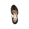 Sandali con zeppa insolia, nero, 769-6645 - 17