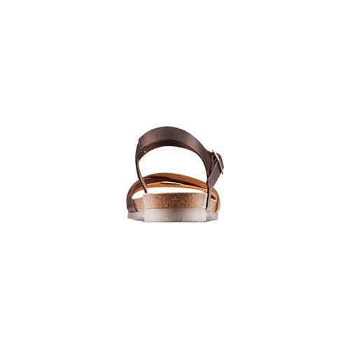 Sandali in vera pelle weinbrenner, marrone, 564-4254 - 15