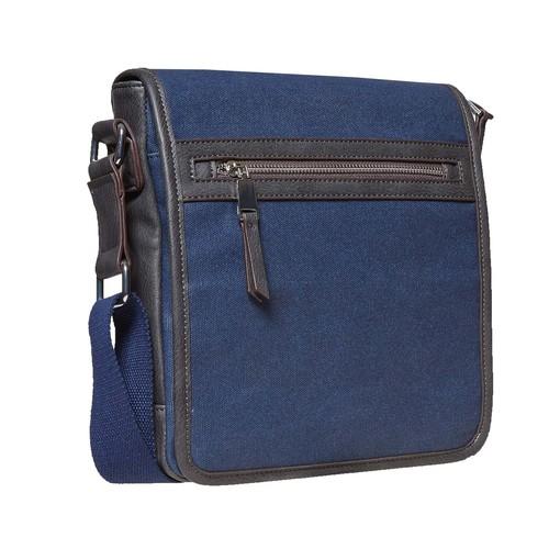 Borsa a tracolla blu bata, blu, 969-9482 - 13