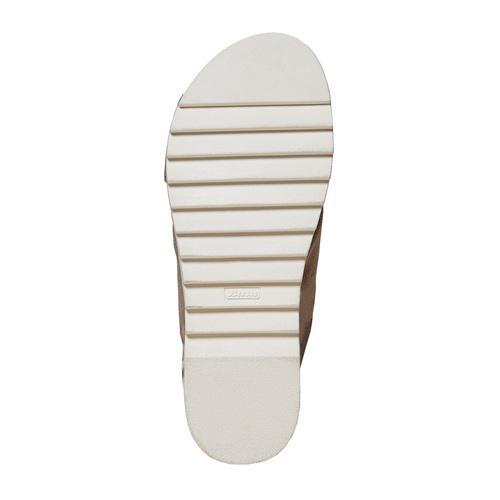 Sandali da donna con suola appariscente bata, 569-2436 - 26