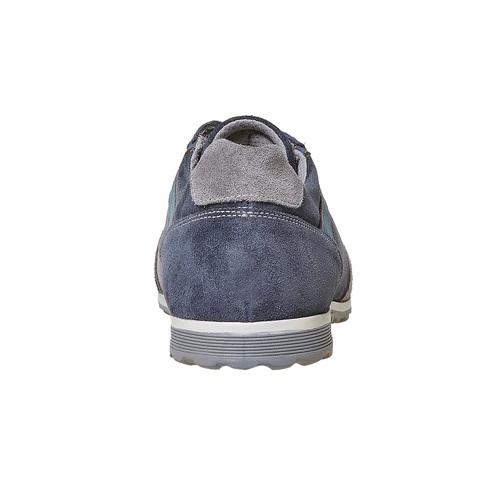 Sneakers casual da uomo bata, blu, 843-9295 - 17